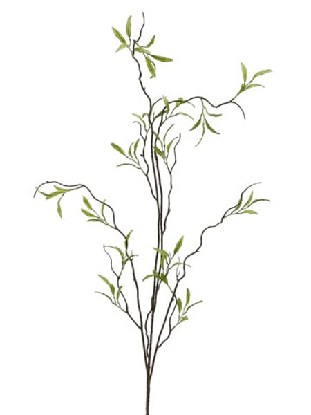 "47"" Willow Branch Green (Pack Of 12) PSW129-GR By Silk Flower"