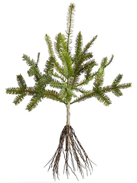 "19""H X 12""D Pine Tree Branch Green (Pack Of 12) YSP731-GR By Silk Flower"