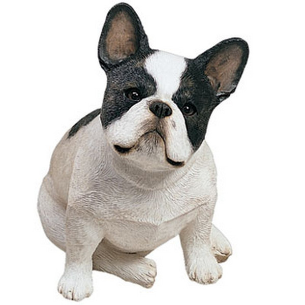 Sandicast Original Size French Bulldog Brindle Sculpture Os119