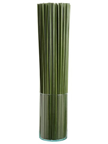 "37""H X 8""W X 8""L Tall Grass In Glass Vase Green WP8177-GR By Silk Flower"