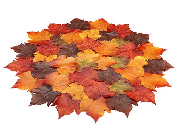 "32"" Maple Leaf Centerpiece Mat Fall AAF982-FA"