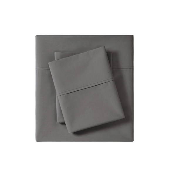 Peached Percale 100% Cotton Single Pick Peached/Brushed Percale Sheet Set By Madison Park MP20-6637