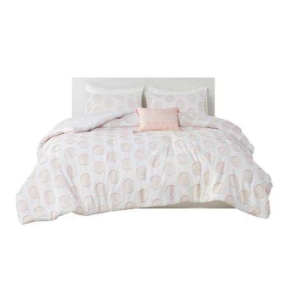 Jennifer 100% Polyester Jacquard Comforter Set By Intelligent Design ID10-1889