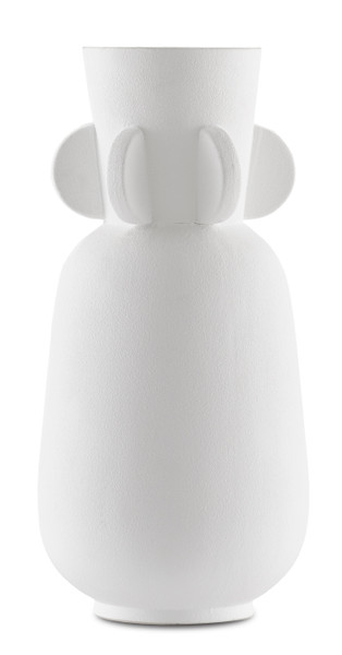 Currey and Company Happy 40 Wings White Vase 1200-0395
