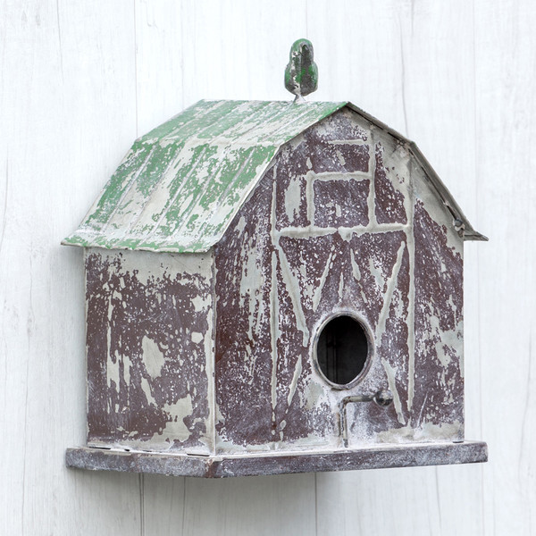 Ragon Barn Birdhouse (Pack Of 2) HY164033