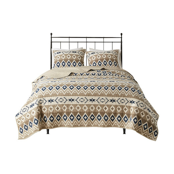 Montana Printed Cotton Quilt Mini Set - Full/Queen WR13-2947