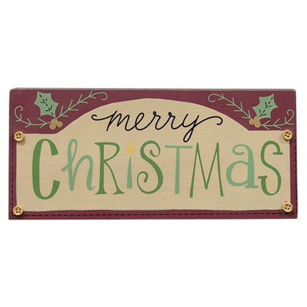Merry Christmas Sign G33224 By CWI Gifts