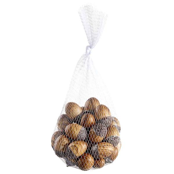 """1.75"""" Marble-Look Acorn (36 Ea/Net Bag) Brown (Pack Of 6) VZA423-BR By Silk Flower"""