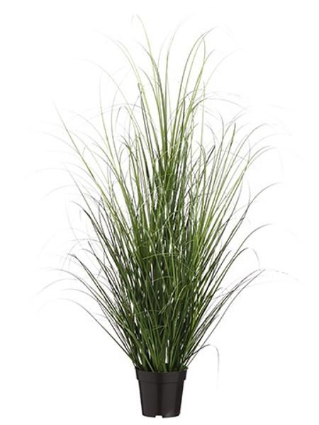 "48"" Grass Bush In Pot Two Tone Green (Pack Of 4) LQG341-GR/TT By Silk Flower"