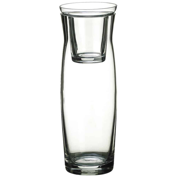 """10.5""""H X 3.5""""D Glass Vase Clear (Pack Of 12) ACG440-CW By Silk Flower"""