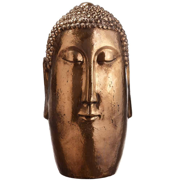 "24"" Buddha Bronze AG2086-BZ By Silk Flower"