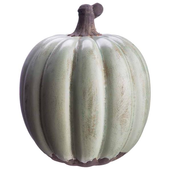 "10.5""H X 8.8""D Terra Cotta Pumpkin Jade (Pack Of 4) AAF514-JA By Silk Flower"