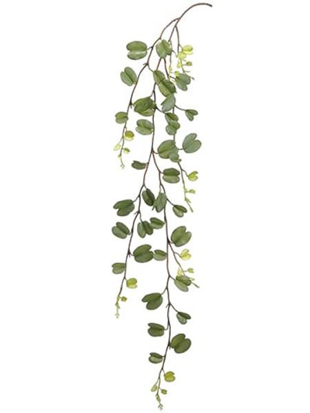 "43"" Hoya Leaf Hanging Spray Green 12 Pieces PSH044-GR"