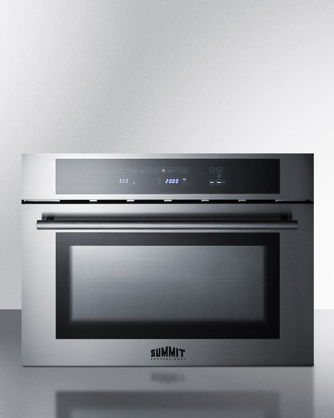 """24"""" Wide Built-In Speed Oven Cmv24 By Summit Appliances"""