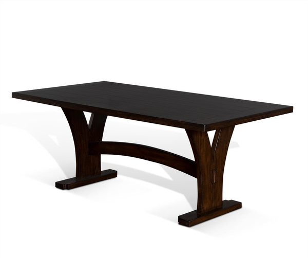 Lancaster Trestle Table 1027Rc By Sunny
