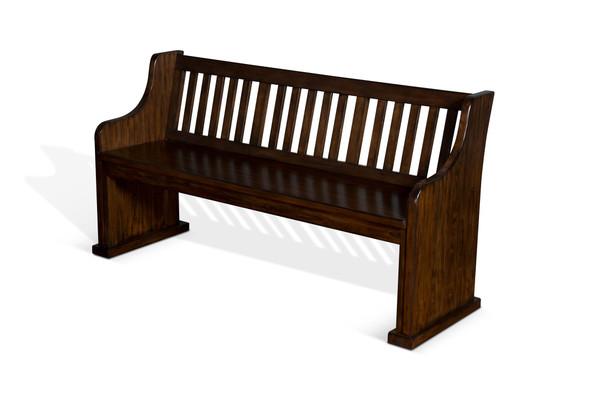 Lancaster Slatback Bench 1437Rc By Sunny