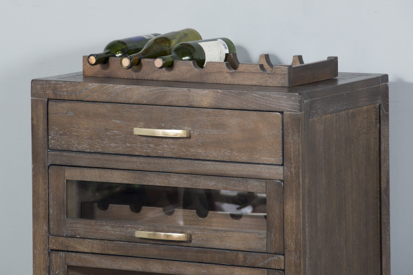 Mink Server & Single Wine Racks 1990Mk-S By Sunny