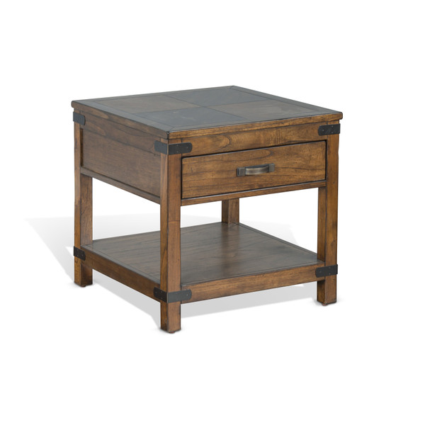 Safari End Table 3299Nw-E By Sunny