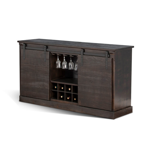 Charred Oak Tv Console 3577Co-B By Sunny