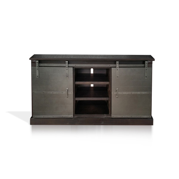 Charred Oak Tv Console 3577Co-M By Sunny