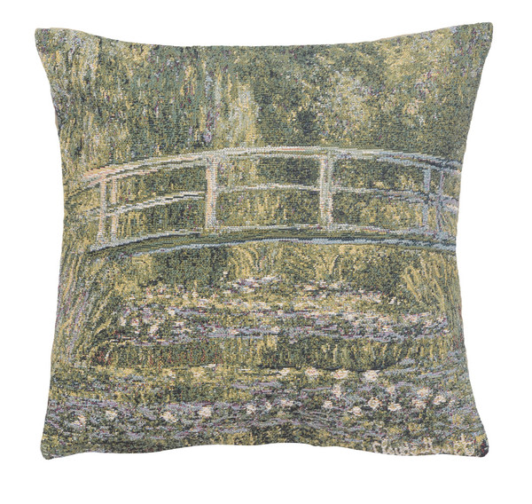 Monet's Bridge at Giverny III European Cushion Covers WW-10424-14372