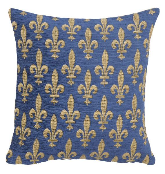 Fleur De Lys Reduit European Cushion Covers WW-10437-14386