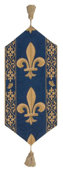 Fleur De Lys Red Vi European Table Runners WW-11513-15389