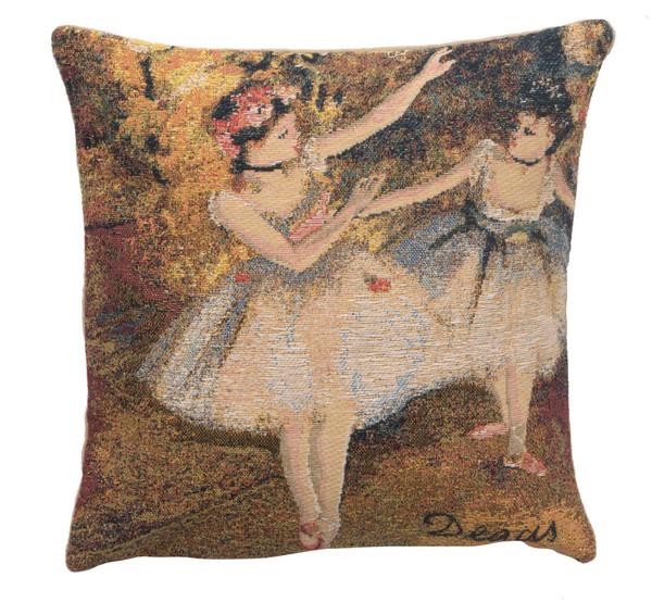 Degas Deux Dansiuses Small European Cushion Covers WW-11685-15582