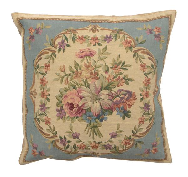 Bouquet Floral Blue European Cushion Covers WW-11693-15590