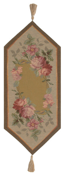 French Floral Roses Small French Table Runner WW-11823-15740