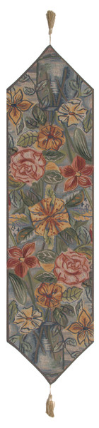 Roses And Lilies French Table Runner WW-1337-2041