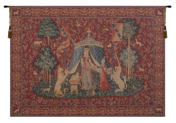 A Mon Seul Desir I French Tapestry WW-202-370