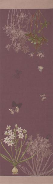 Herbarium Plum French Table Runner WW-3823-5293