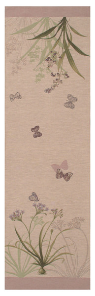Herbarium Clear French Table Runner WW-3824-5294
