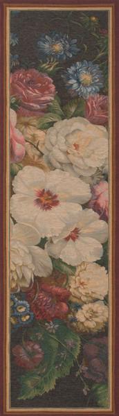Flowers Centered French Table Runner WW-3828-5300