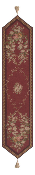 Aubusson Red French Table Runner WW-3899-5436