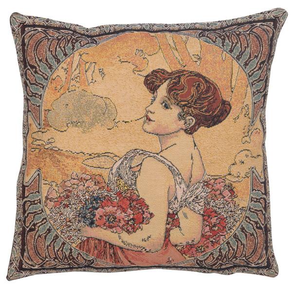 Mucha Summer II European Cushion Covers WW-5216-7223