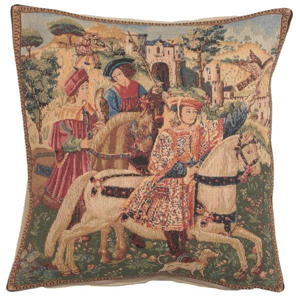 Hawking Scene European Cushion Covers WW-5764-8077