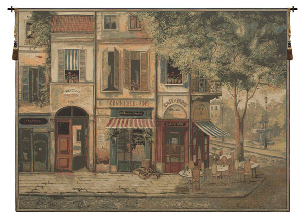 Rue De Paris European Tapestry WW-6376-8964