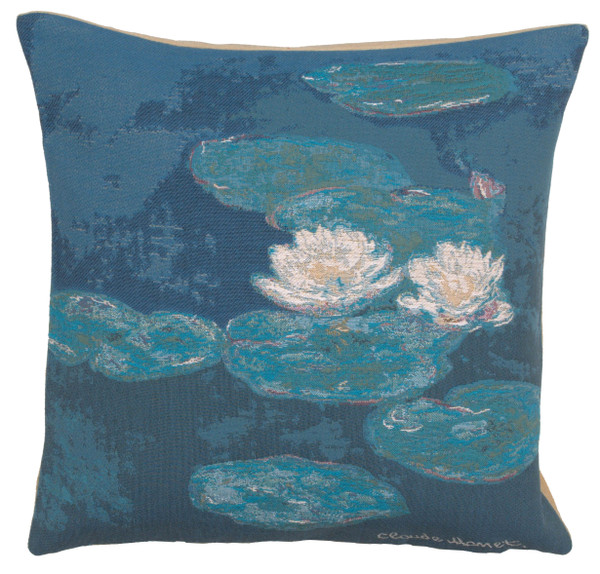 Monets Lily Pads European Cushion Covers WW-6379-12699