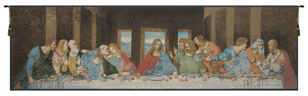 The Last Supper Italian Italian Tapestry WW-7860-10946