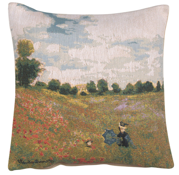 Monet's Poppy Field European Cushion Covers WW-8336-11590