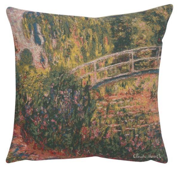Monet's Japanese Bridge European Cushion Covers WW-8339-11596