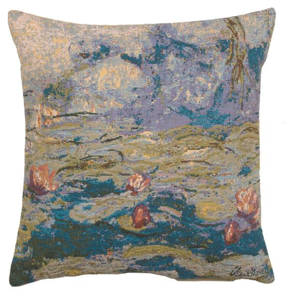 Monet's Water Lilies European Cushion Covers WW-8340-11598
