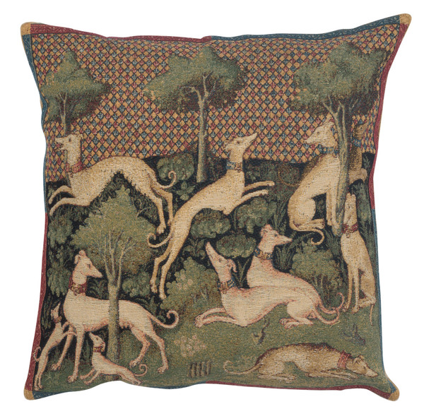 Medieval Dogs European Cushion Covers WW-8391-11698