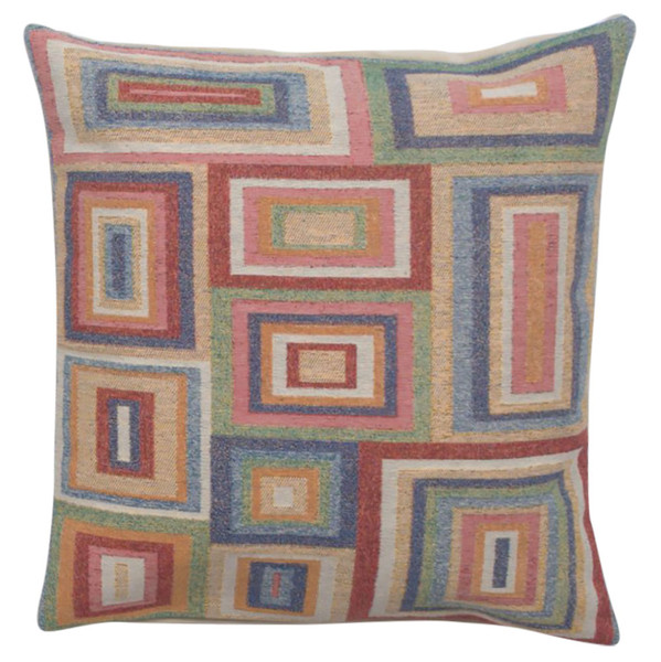 All Right Angles Decorative Pillow Cushion Cover WW-9515-13386