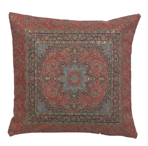 Quartz Mandala Decorative Pillow Cushion Cover WW-9521-13392