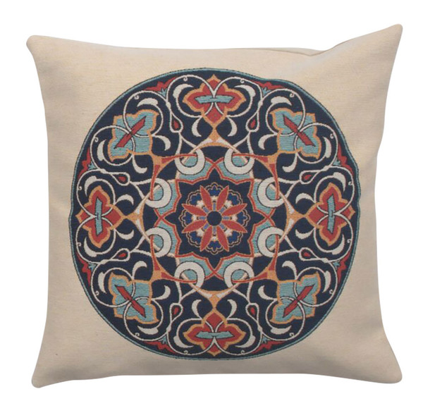 Blossom Mandala Decorative Pillow Cushion Cover WW-9531-13402