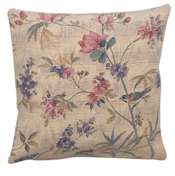 Delicate Flowers Decorative Pillow Cushion Cover WW-9545-13416