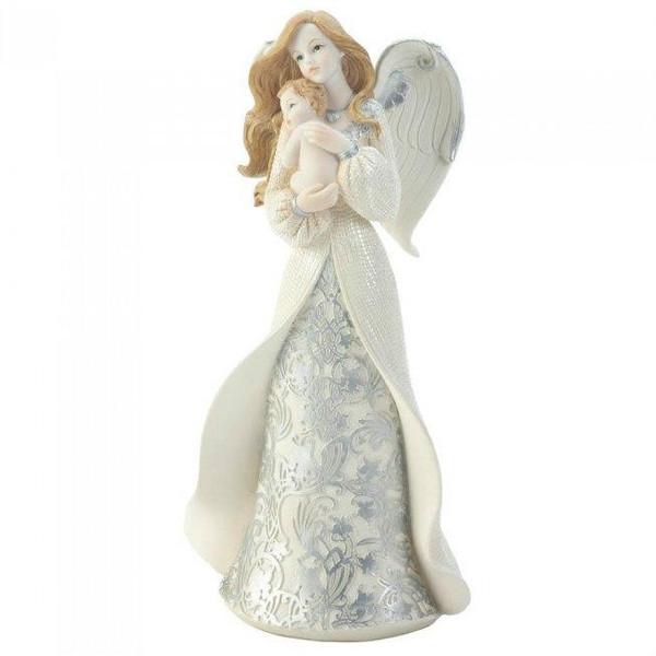 Angel Holding Baby Figurine 10018460 By Zingz & Thingz
